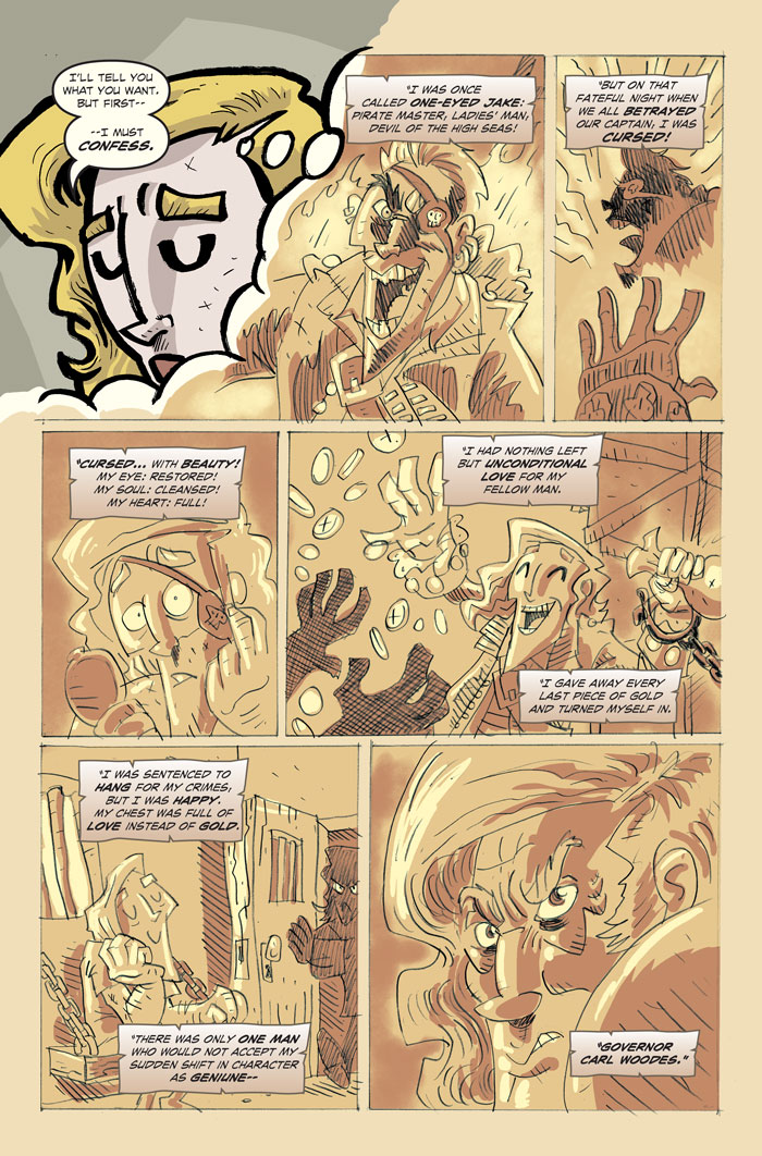 Blonde old dork!